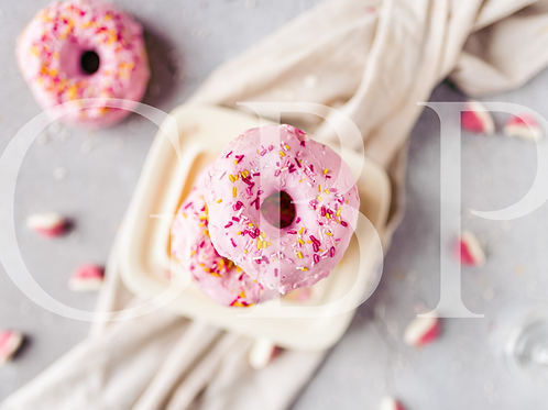 Stock Photo - Pink Donut Fun