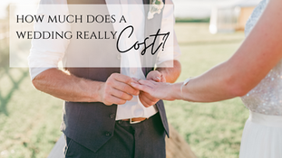What is the Average Cost for a Wedding?