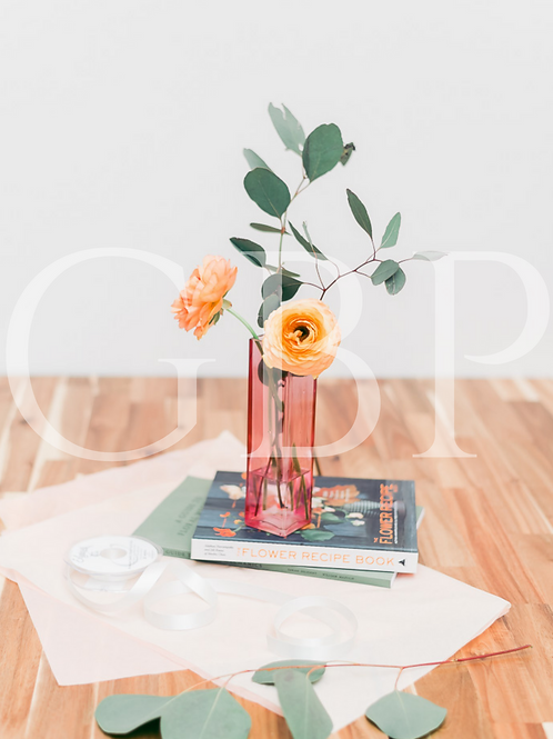 Stock Photo - Orange and Peach Floristry