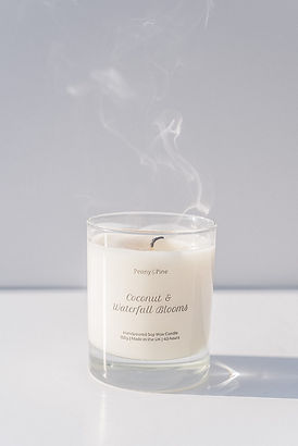 Peony and Pine Coconut and waterfall blo