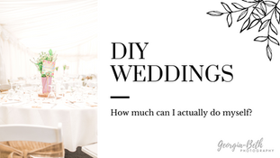DIY Weddings: How much can I actually do myself?