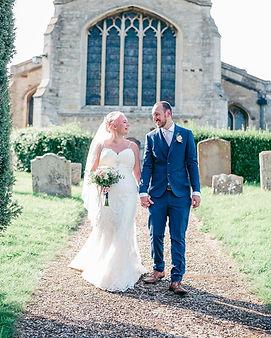 Couple Church wedding Northamptonshire   Wedding Photographer Georgia Beth Photography