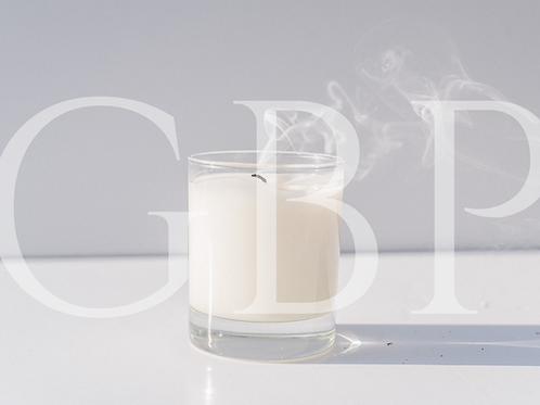Stock Photo - White Candle