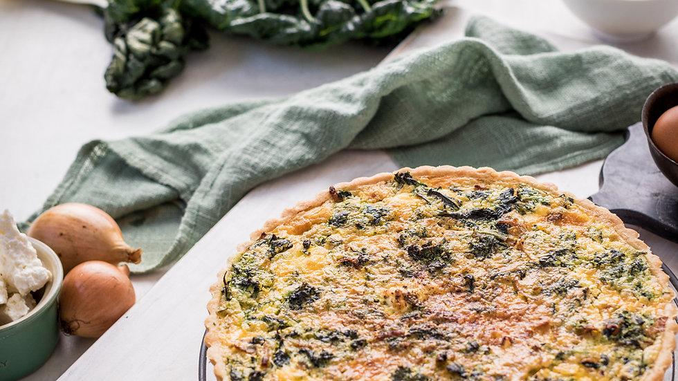Quiche Florentine - Spinach and Feta