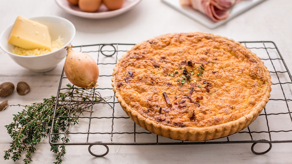 Quiche Lorraine - Bacon & Gruyére