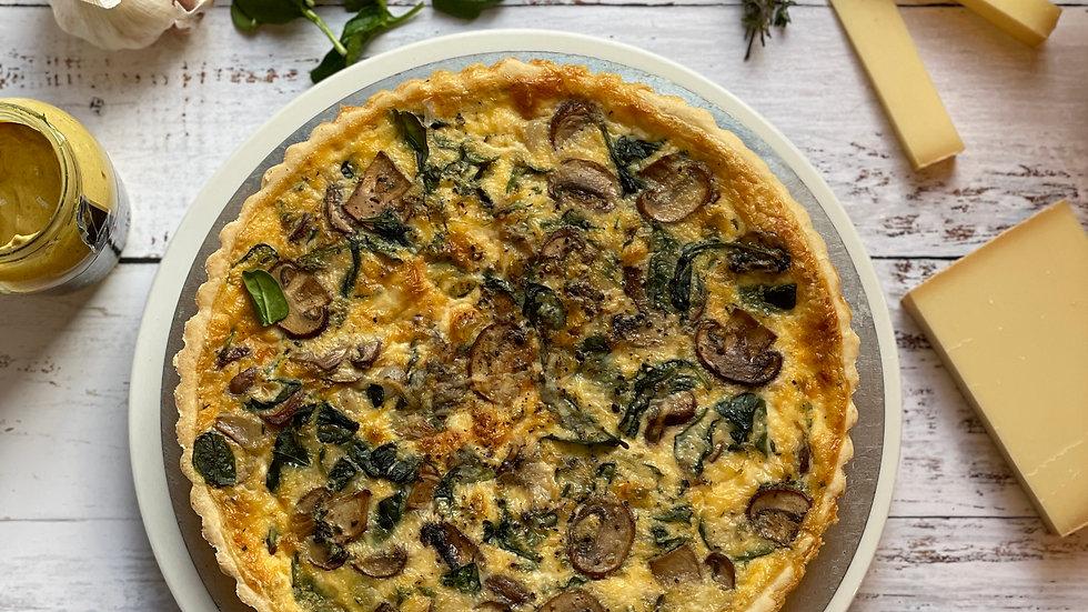 Mushroom Spinach Deluxe