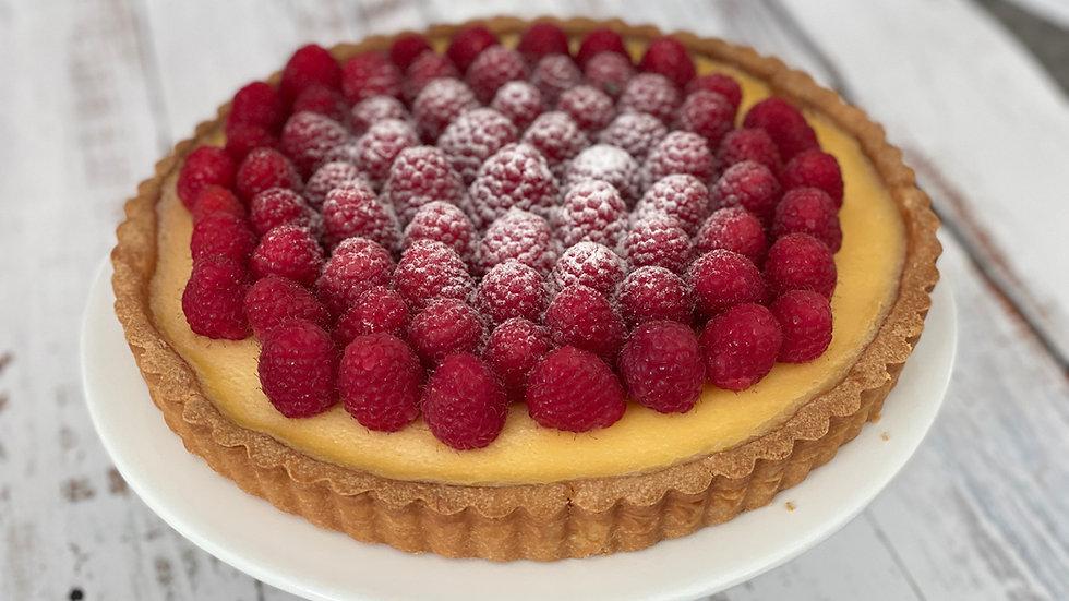 Lemon & Raspberry tart