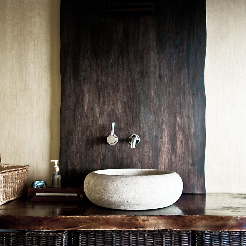 Rustic Bathroom Sink