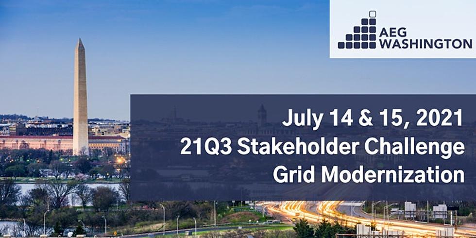 AEG Washington 21Q3 Stakeholder Challenge on Grid Modernization