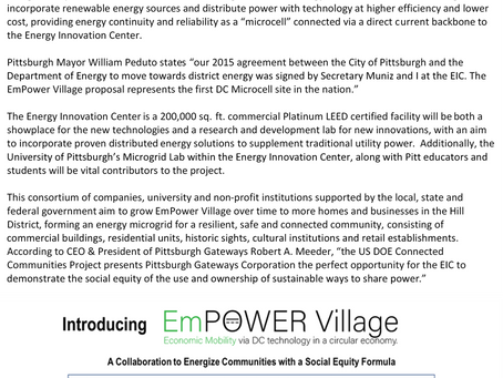 EmPower Village, a Connected Community, Pittsburgh, PA