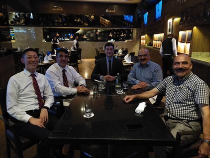 Reunión con JEOL De México