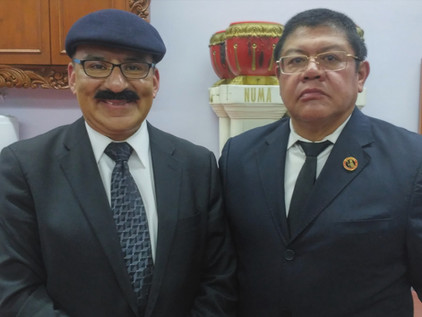 Bienvenido Luis Jaime Pinzón Campos