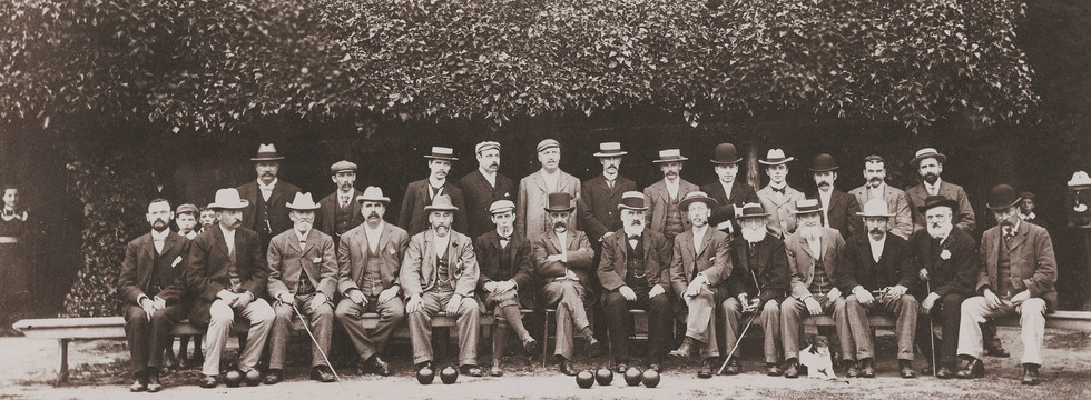 Gentlemen of Tewkesbury. 1908