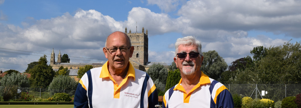 Pairs. Malcolm Swain & Colin Campbell