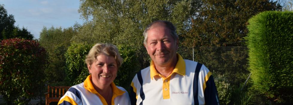 2 Wood. Jackie Hughes & Stewart Minchew