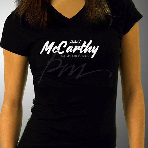 MCCARTHY LOGO WOMEN V-NECK