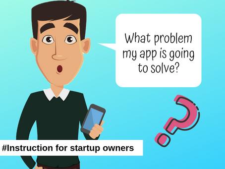 Instruction for Startup owner. Part 3