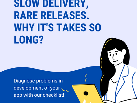 Slow delivery, rare releases. Why it's takes so long?