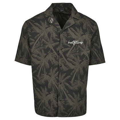 Hawaiian Button-Up Shirt