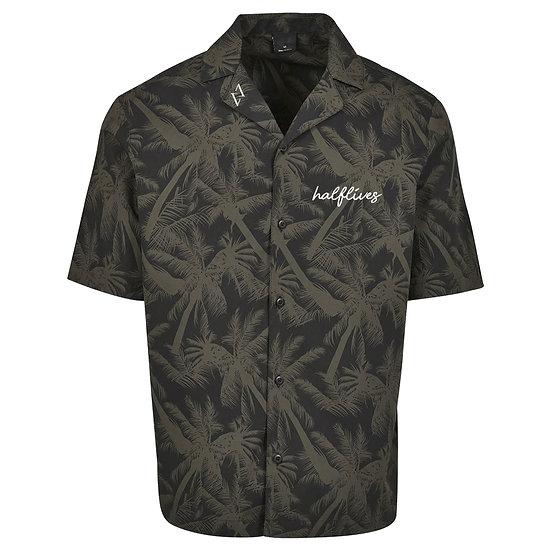Hawaiian Button-Up Shirt