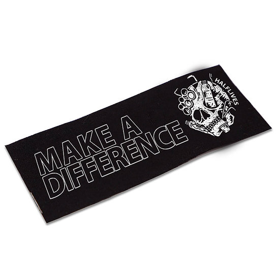 """""""Make A Difference"""" Patch"""