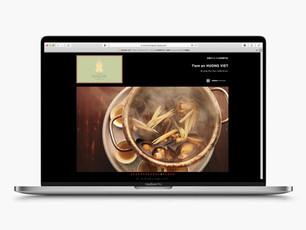 ベトナム料理 Huong Viet(フォーンヴィエット・京都・烏丸御池) | ウェブサイト(ホームページ)デザイン・制作