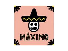 MÁXIMO(マキシモ・京都・木屋町) | ロゴデザイン・メニューデザイン