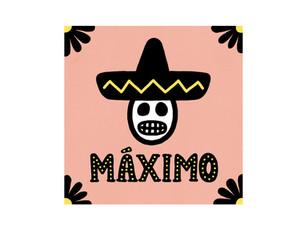 MÁXIMO(マキシモ)(京都・木屋町) | ロゴデザイン・メニューデザイン