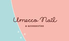 Umecco Nail & accessories(京都) | ロゴタイプデザイン・ショップカードデザイン