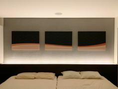 K.N.邸 | 居室内アートデザイン・制作パネルキャンバス