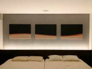 K.N.邸 | 居室内アートデザイン・キャンバスパネル制作