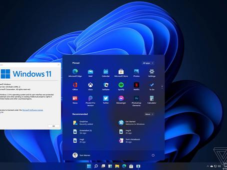 Windows 11 new UI, Start menu, and more …