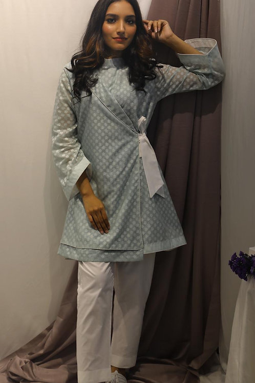 Wrap kurti with pants