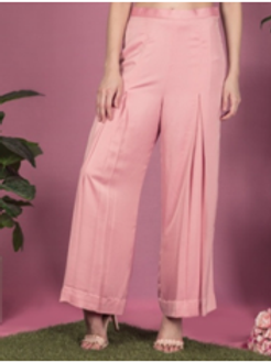 Candy floss satin pant
