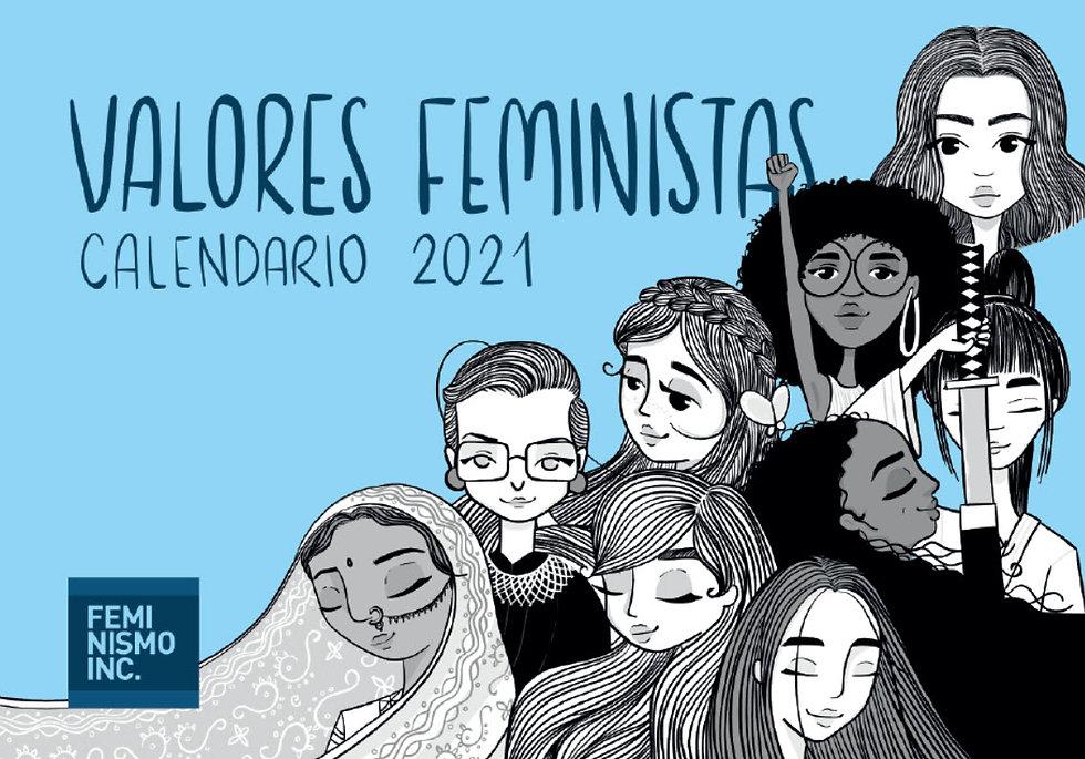 2021-CalendarioValoresFeministas-Feminis