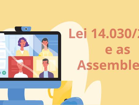 A Lei 14.030/2020 e as Assembleias Virtuais