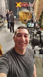 Richard Karn On Set | Little