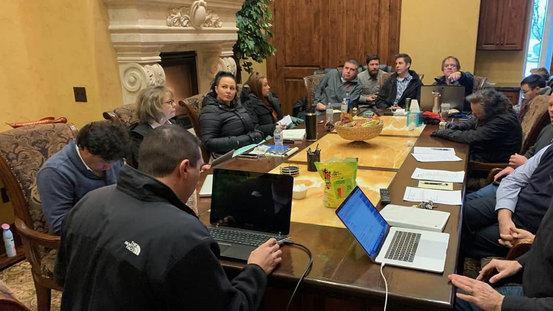 Presenting At Company Meeting