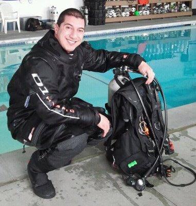 Drysuit Testing | Waterproof D1