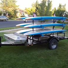 Custom Paddle Board Trailer