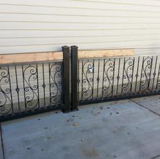 Custom Design Rails w/ Wood