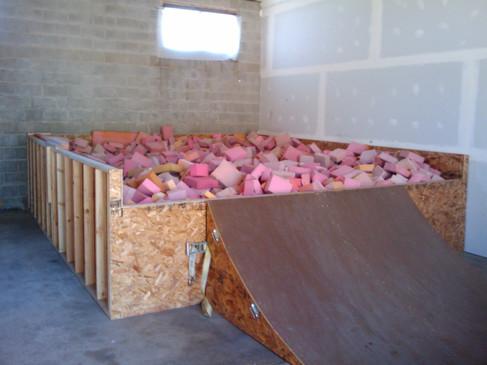 Indoor Skate Park Foam Pit