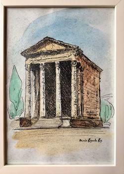 Roman August temple
