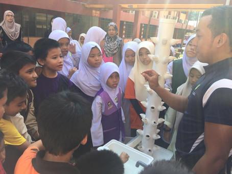 Spreading Awareness On Aquaponics Urban Farming Program Through Schools In Malaysia