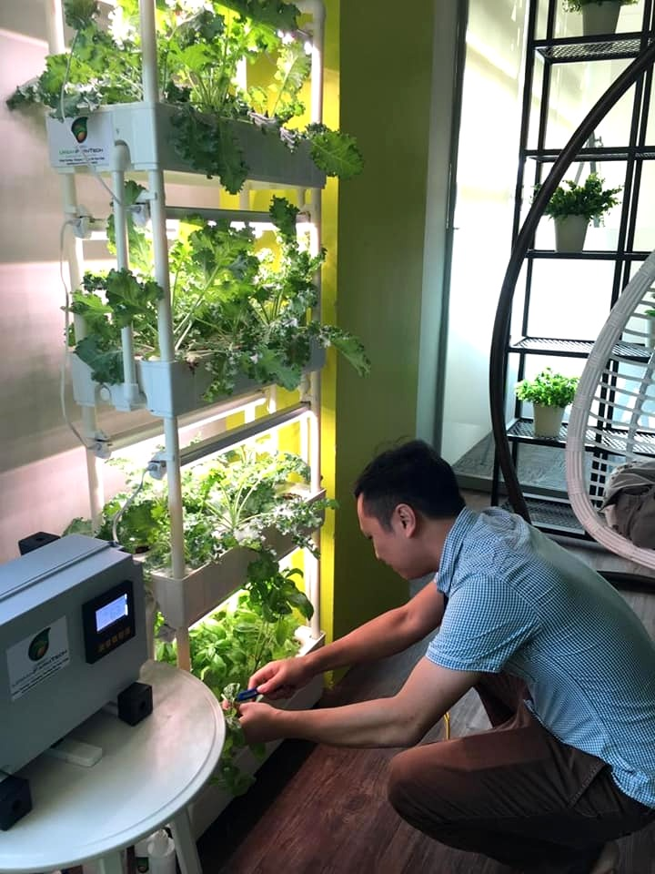 Vertical farming technology smart farming Urban Farm Tech