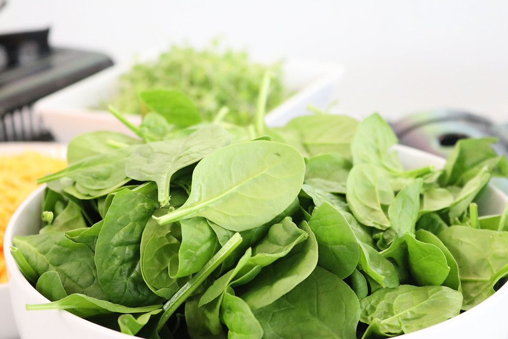 Grow your own food spinach