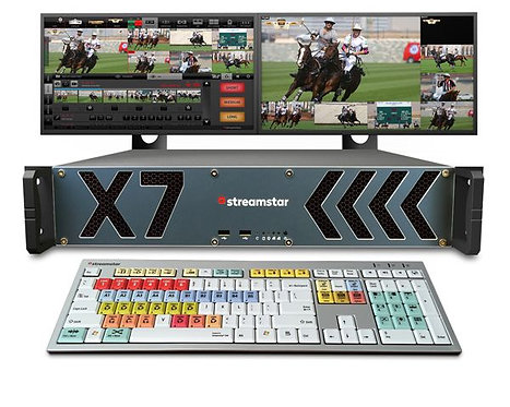 Sistem productie video streaming Streamstar X7 6-channel