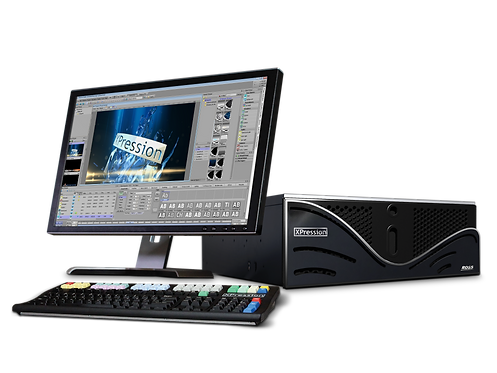 Sistem grafica Ross XPression Real-Time Motion Graphics System