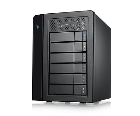 Server stocare HDD RAID Promise Pegasus3 R6 PC Edition Thunderbolt