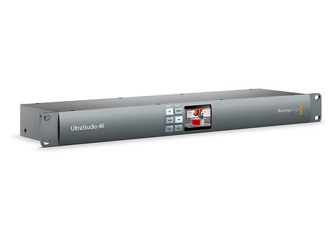 Dispozitiv captura video Blackmagic UltraStudio 4K Rack mount Thunderbolt
